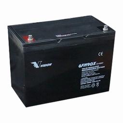 Vision Blybatteri 12 volt 90Ah til Elscooter & kørestole.