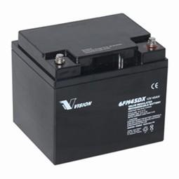 Vision Blybatteri 12 volt 45Ah til Elscooter & kørestole