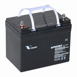 Vision Blybatteri 12 volt 33Ah til Elscooter & kørestole