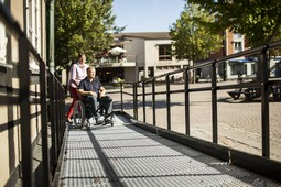 Wheelchair and handicap ramps