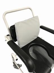 SAFE Med Toiletrygstøtte - trykaflastende lændestøtte til påmontering