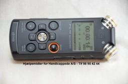 Eltrinex V12 Pro notatapparat med dansk tale
