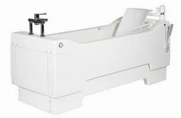 Multibath SE - højdeindstilleligt badekar m/el-badestol