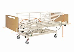 OPUS 1DW-serien - Care beds