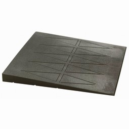 Rubberramp for doorstep
