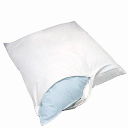 Allergyfriendly and dustmite proof cover for pillow