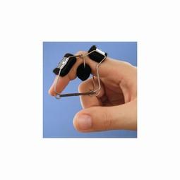 Dynamisk fingerskinne til fleksion af PIP - med elastik