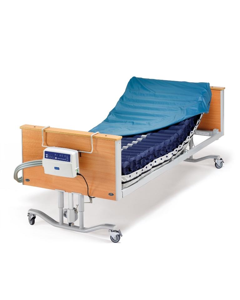 trykaflastende madras AssistData   Arjo, Alpha Active 4, pressure relieving mattress  trykaflastende madras