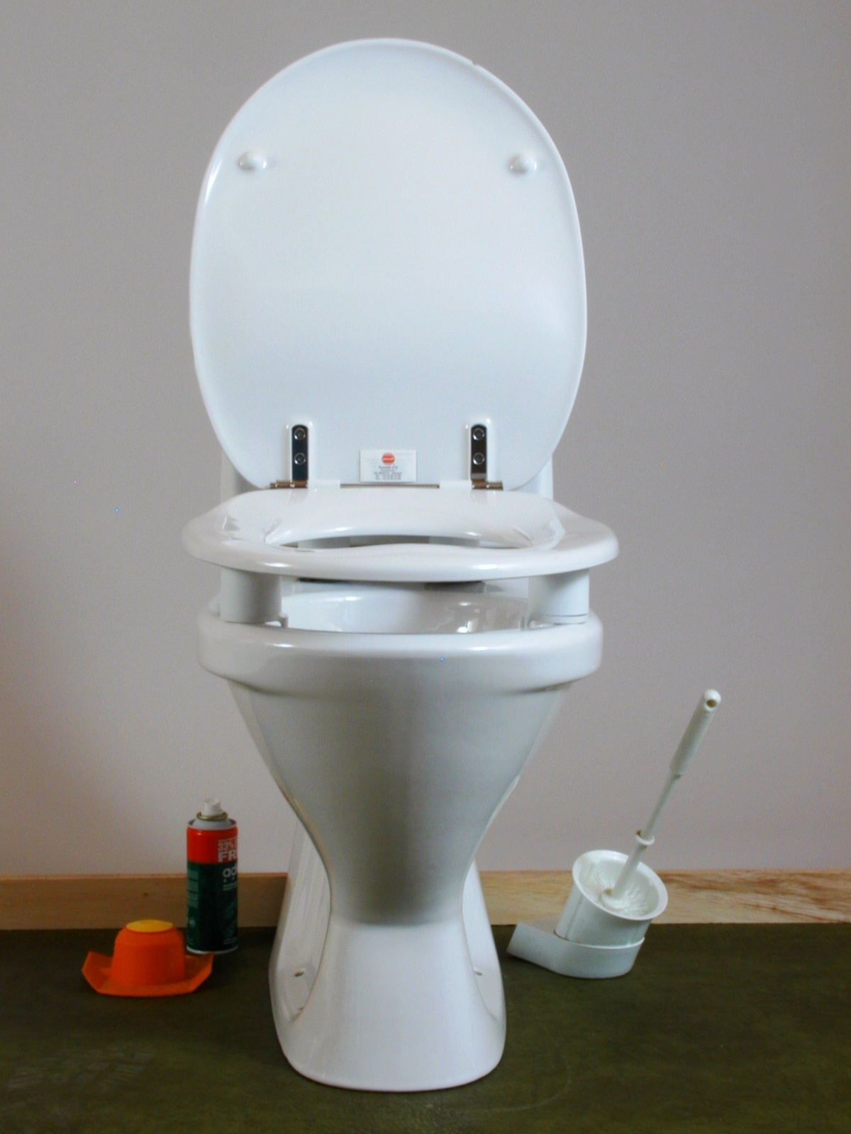 Assistdata Dania Raised Toilet Seat From Dan Rehab A S
