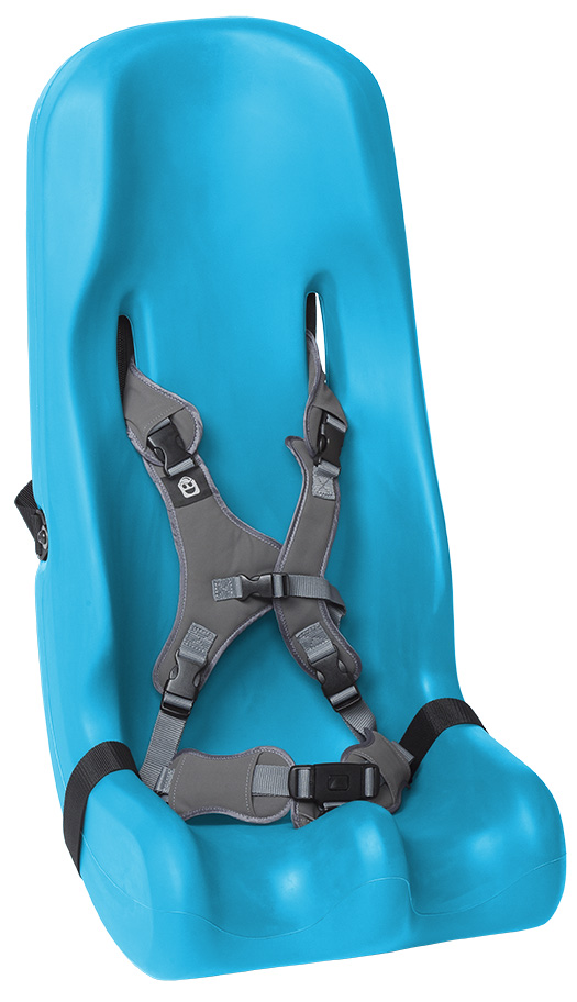 AssistData - Sitter Seat with 5-point harness, Special Tomato from