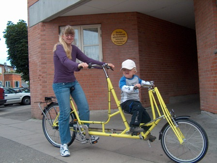 AssistData - Mr  Pedersen Tandem bike - size child from Dan