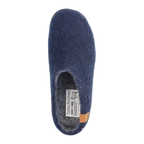 AssistData Green Comfort slippers from Boisen