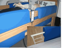 A/D - Surcon cover for bed-rails  - example from the product group covers for side rails