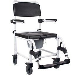 Bath Shower Chair with wheels  - example from the product group commode shower chairs with castors