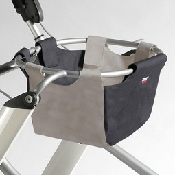 Stofkurv til Lets Go rollator  - example from the product group baskets and bags for rollators and walking frames