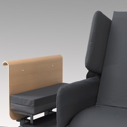 Upholstery for RotoBed bedrails  - example from the product group covers for side rails